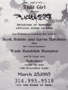 03.25.1995 - Hardkiss - Back