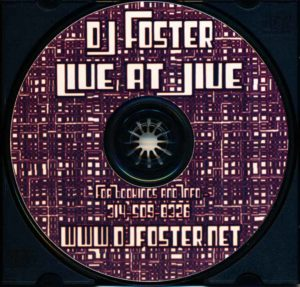 DJ Foster - Live at Jive